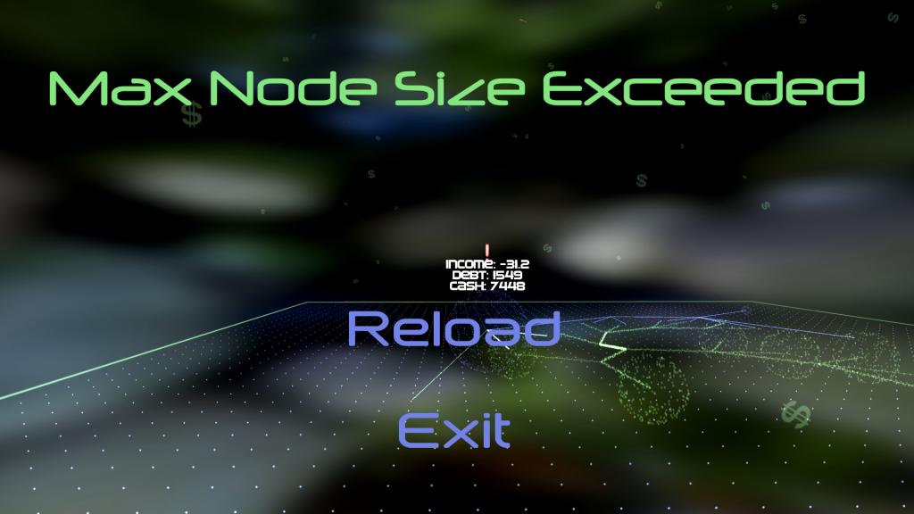 Max Node Size